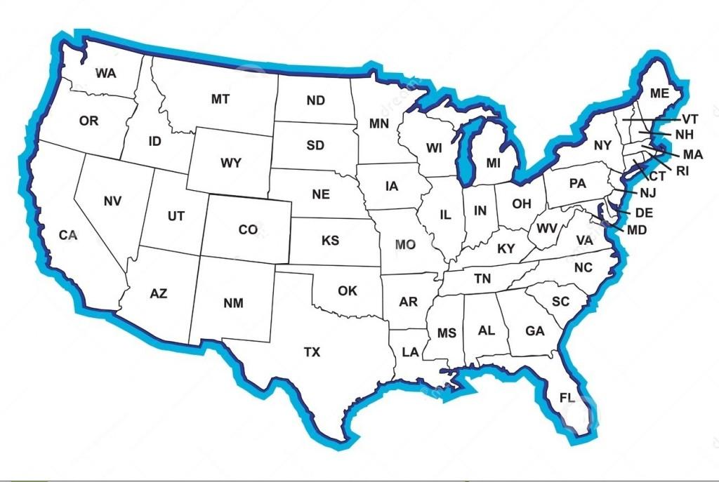 ABD Eyaletler Haritası