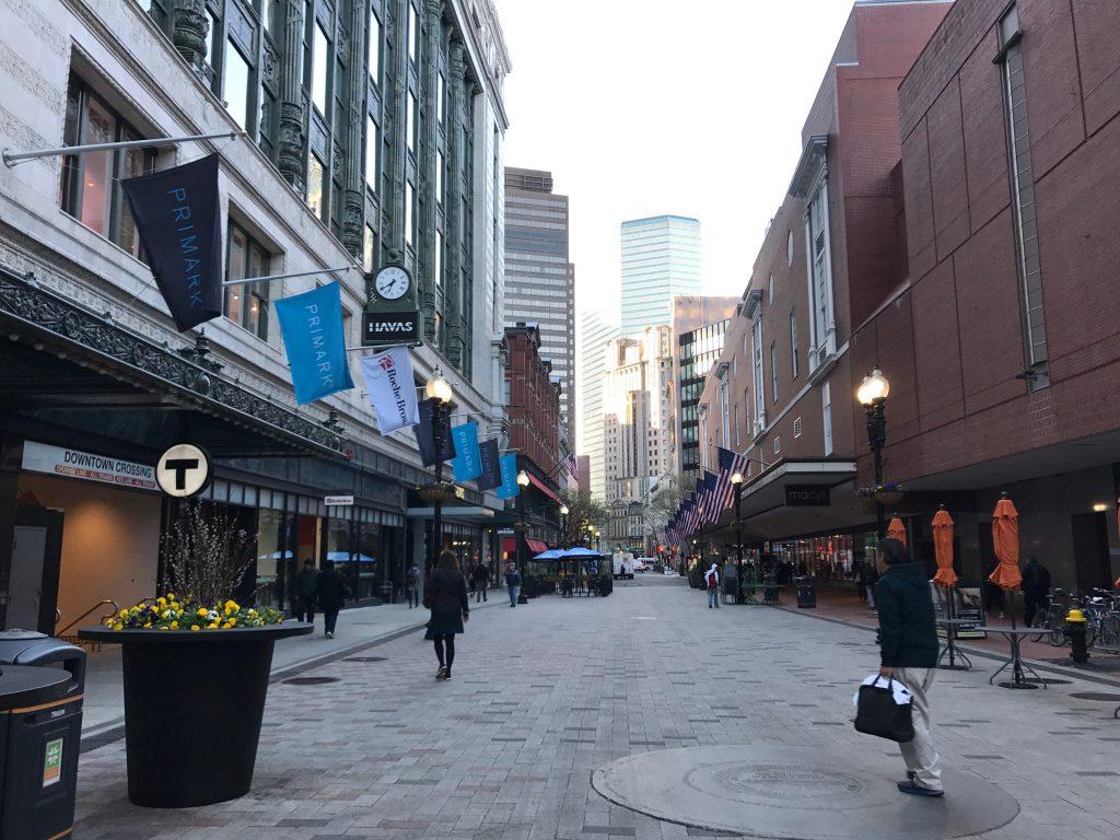 boston downtown nasil greencard aldim